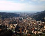 Panoramica di Carrara