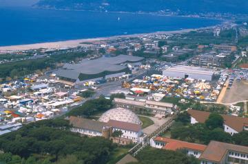 Marina di Carrara - Il complesso fieristico CarraraFiere