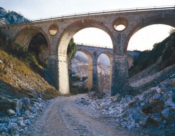 Ferrovia Marmifera - I Ponti di Vara